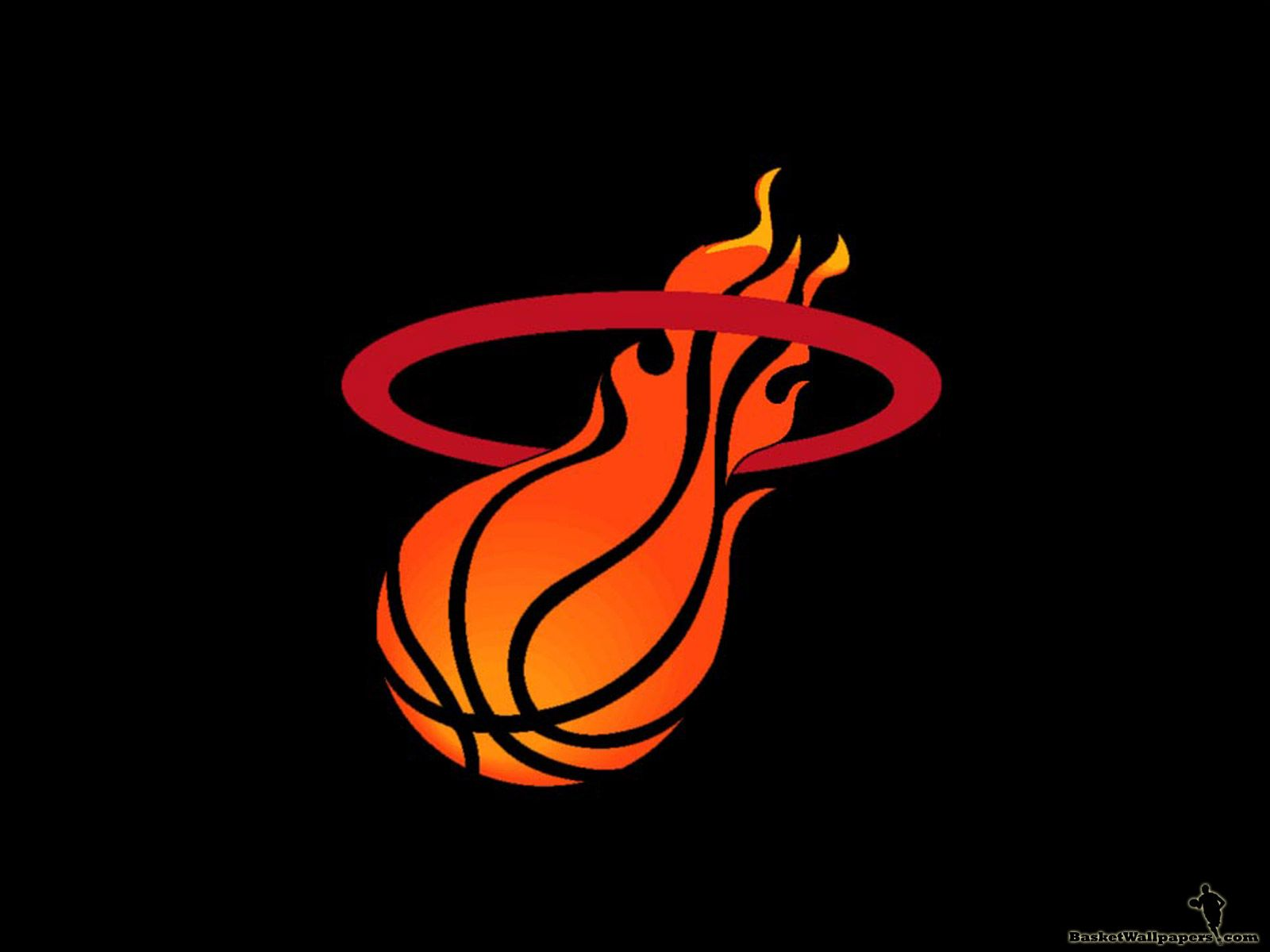 Miami Heat Logo Backgrounds Miami Heat Miami Heat Logo Basketball Wallpaper