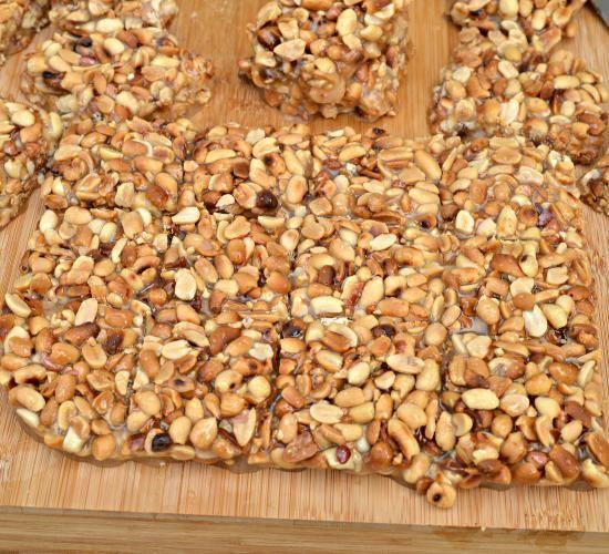 Fistkieh Peanut Sticky Bars Peanut Desserts Lebanese Recipes Lebanese Cuisine
