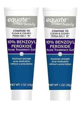 Cool 2pk Equate Beauty 10 Benzoyl Peroxide Acne Treatment Gel Max