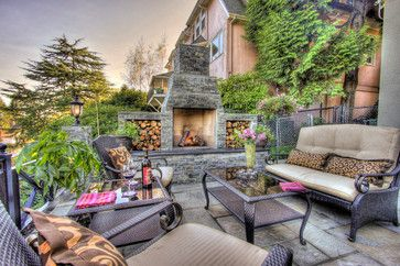 Portland Landscaping Overlook - traditional - patio - portland - Paradise Restored Landscaping & Exterior Design