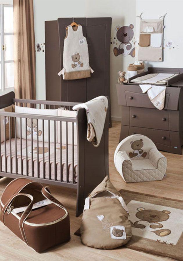 Habitacion bebe chocolate habitaciones beb s for Habitacion completa bebe boy
