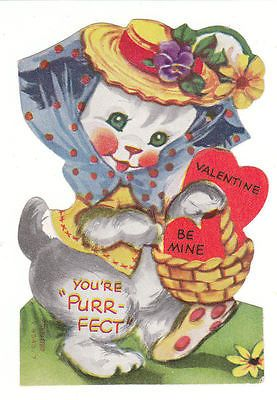 PurrFect Vintage Cat Valentines by birdhouseinyoursoul