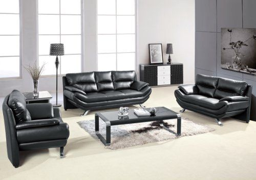 amazing orange white sofa living room furniture set | Milano Contemporary Leather Sofa Set by Matisse. $1750.00 ...