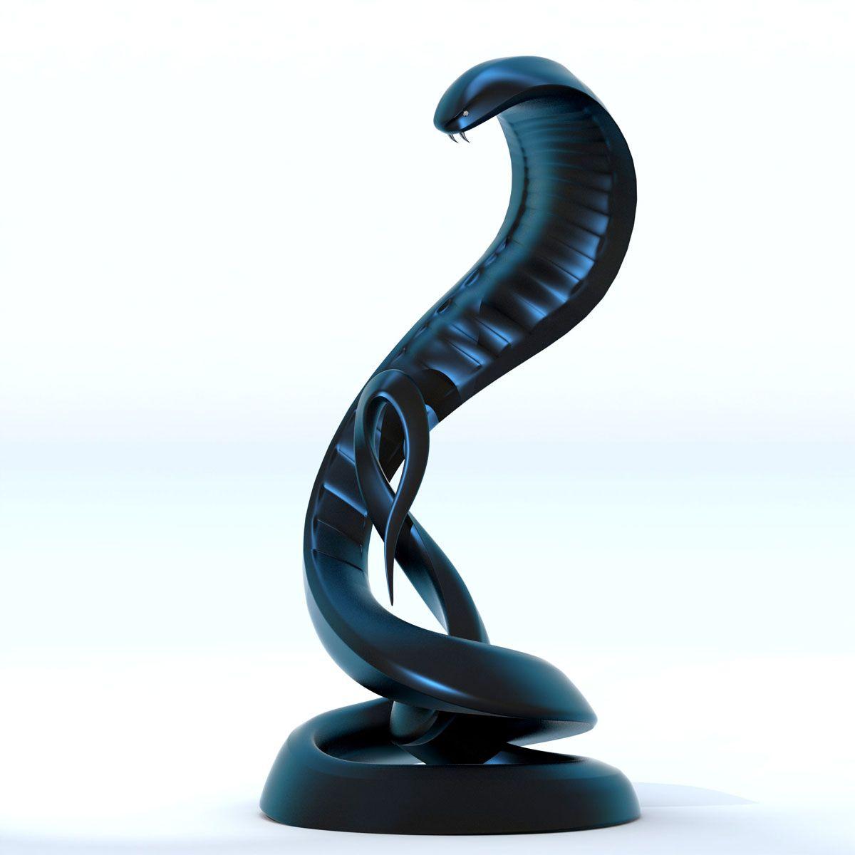 """modernsculpturepublicartstatuearabicfountain  contemporary  - """"cobra snake""""  modern sculpture – public art"""