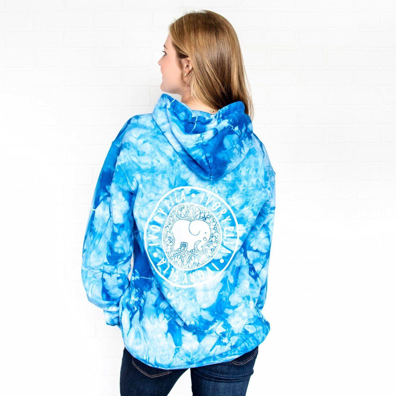 Oversized Royal Blue Tie Dye Hoodie Tie Dye Hoodie Tie Dye Techniques Tie Dye Sweatshirt [ 1340 x 1340 Pixel ]