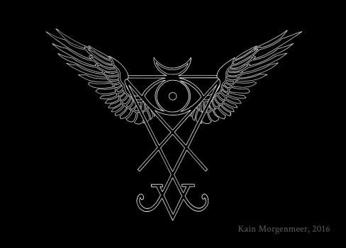 SoL II - Winged Seal of Lucifer by KainMorgenmeer | Sigil ...  Seal Of Lucifer Tattoo