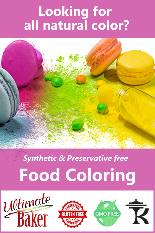 All natural food color for the home baker that demands the ...