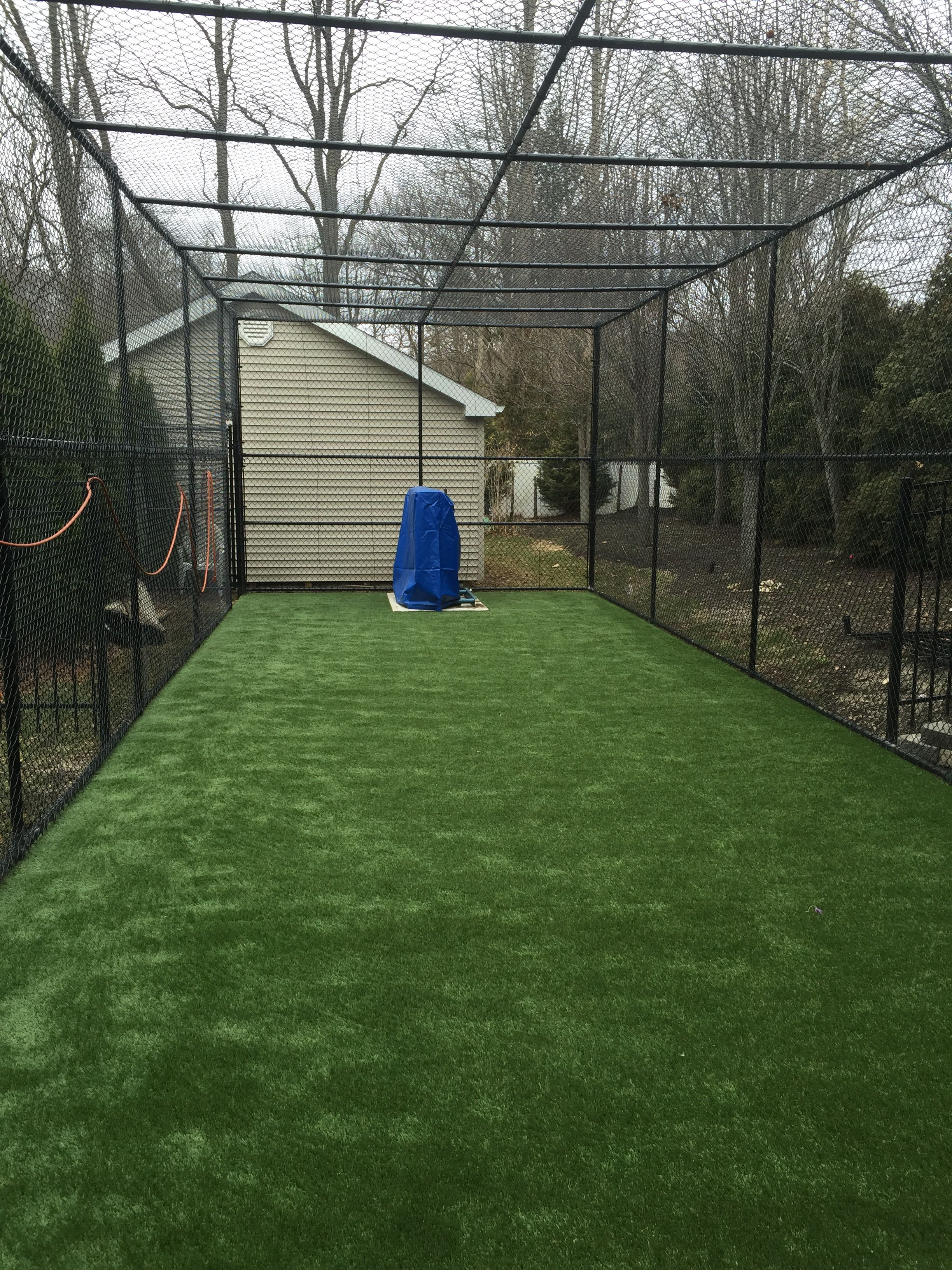chain link batting cage central park pinterest