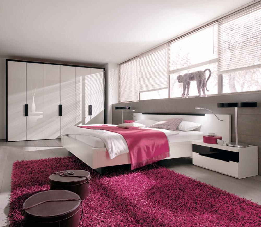 Modern Bedroom Colors Design girls-room-furniture-with-pink-bedroom | bedroom decoration