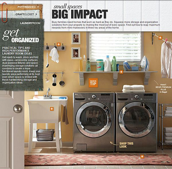 space saving garage image detail for check out the space saving laundry room on the