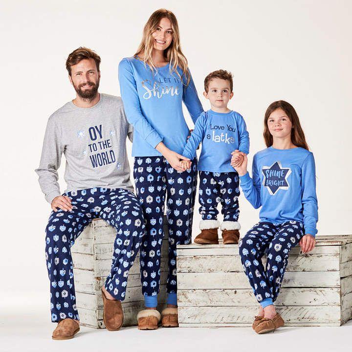 Asstd National Brand  FAMJAMS Hanukkah Family Pajama Set- Men s ... a9c8f9f78