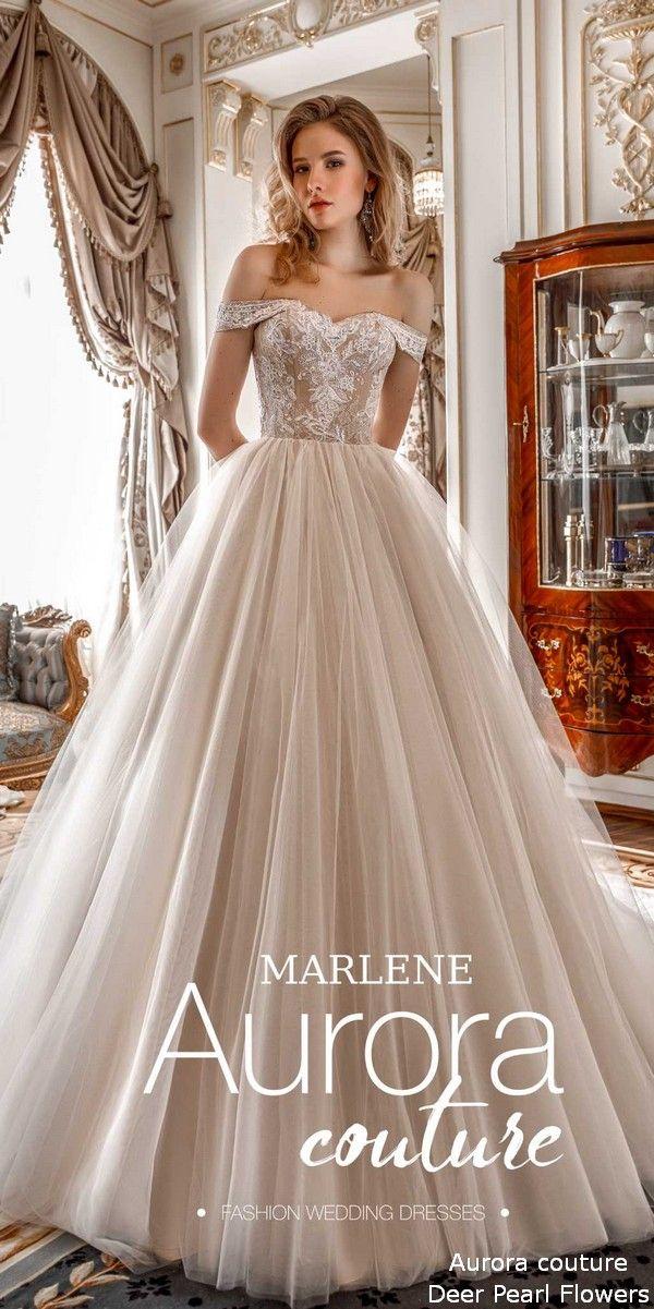 c2ea175820 Aurora couture Russian Glory 2019 Wedding Dresses Marlene #wedding  #weddingideas #dresses #deerpearlflowers