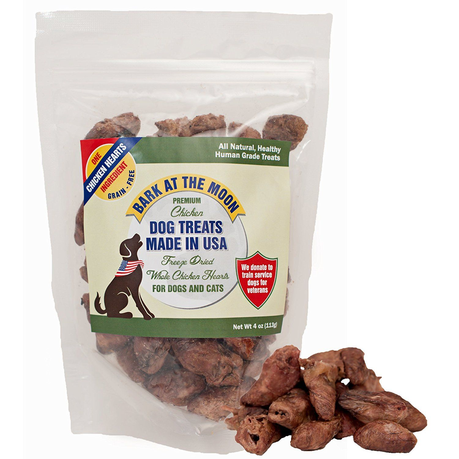 Premium Chicken Dog Treats Made In Usa Freeze Dried Whole