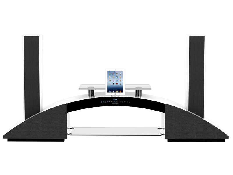 meuble tv conforama promo meubles achat meuble tv amplifi hdw sv 2950 hd bt - Acheter Meuble Tv Amplifie