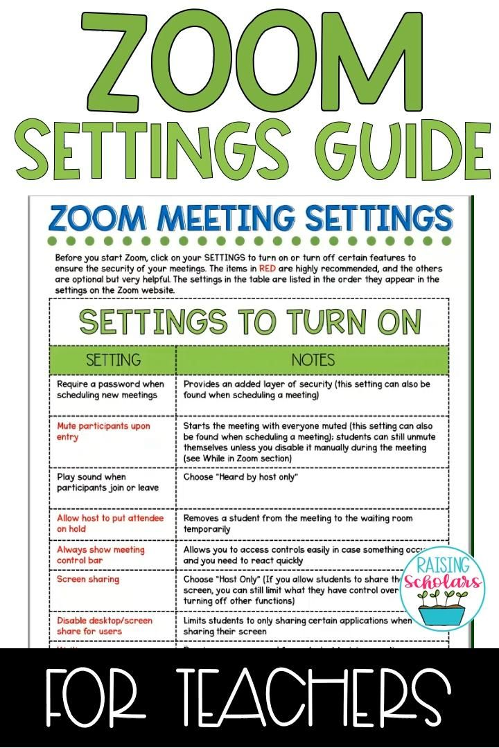 Photo of Zoom Privacy Settings Guide for Teachers