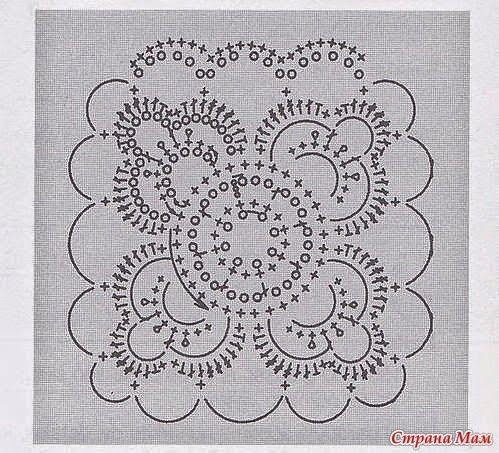 As Receitas de Crochê: Casaco de squares em crochê