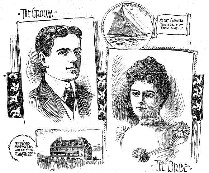 boston daily globe  4 apr 1899  illustration of william k