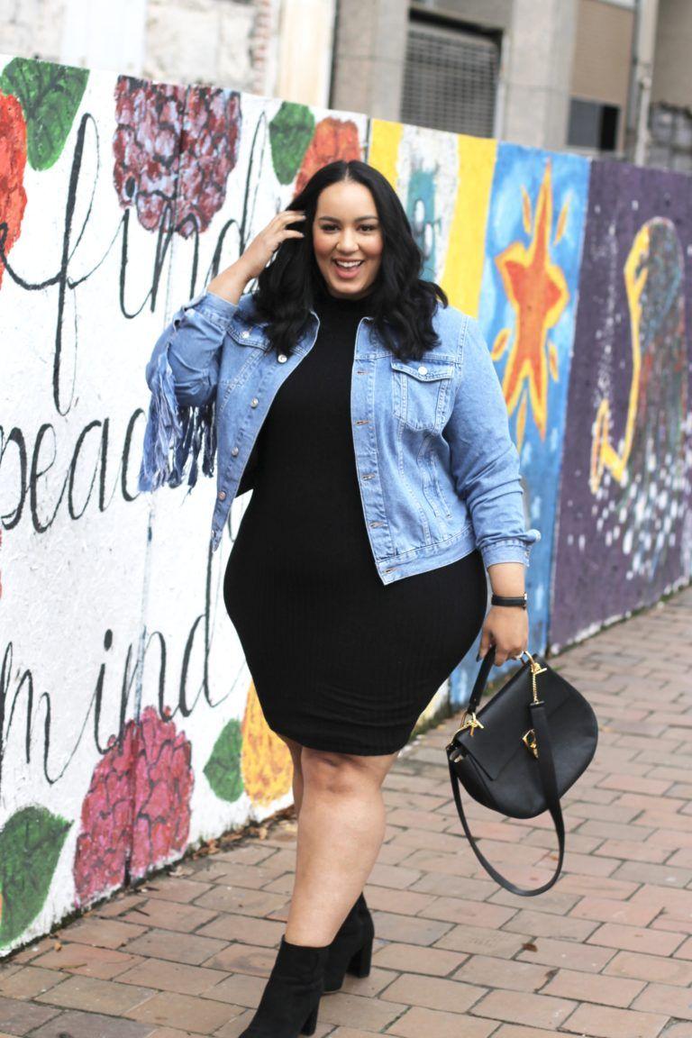 Denim Jacket Dreams Beauticurve Plus Size Fashion Plus Size Outfits Plus Size Fashion For Women [ 1152 x 768 Pixel ]