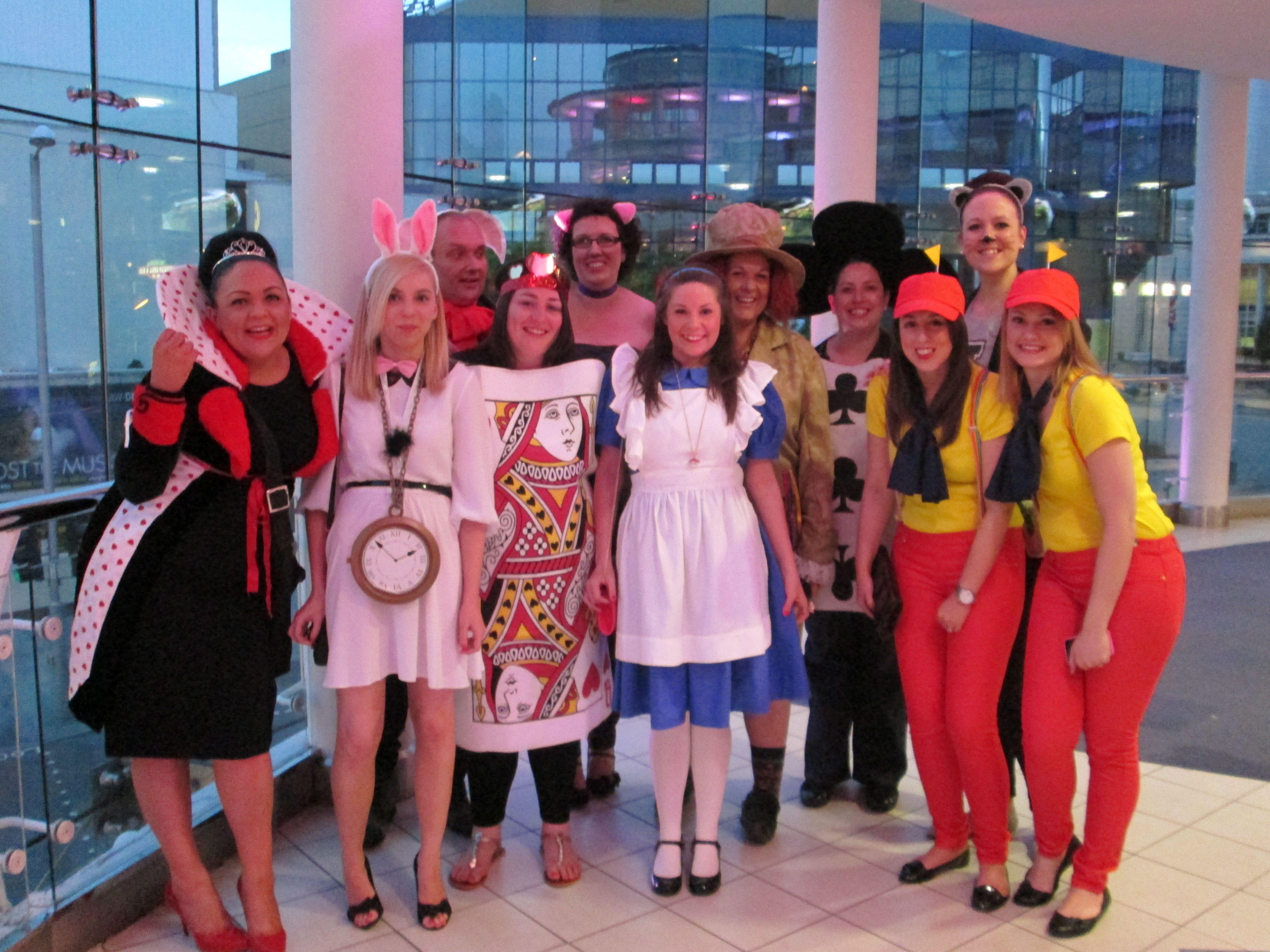 fancy dress ideas group of 6