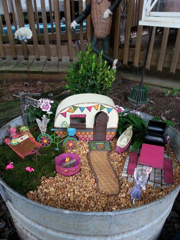 My Camper Fairy Garden!