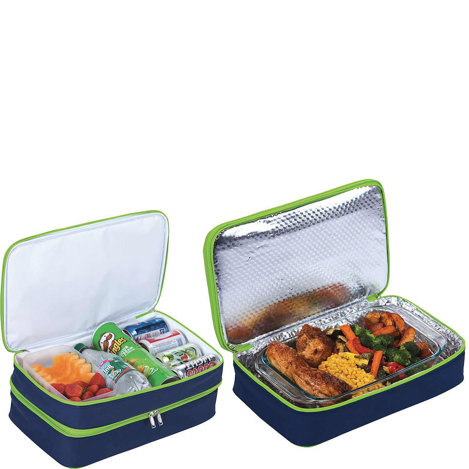 Picnic Plus Entertainer Hot Amp Cold Food Carrier