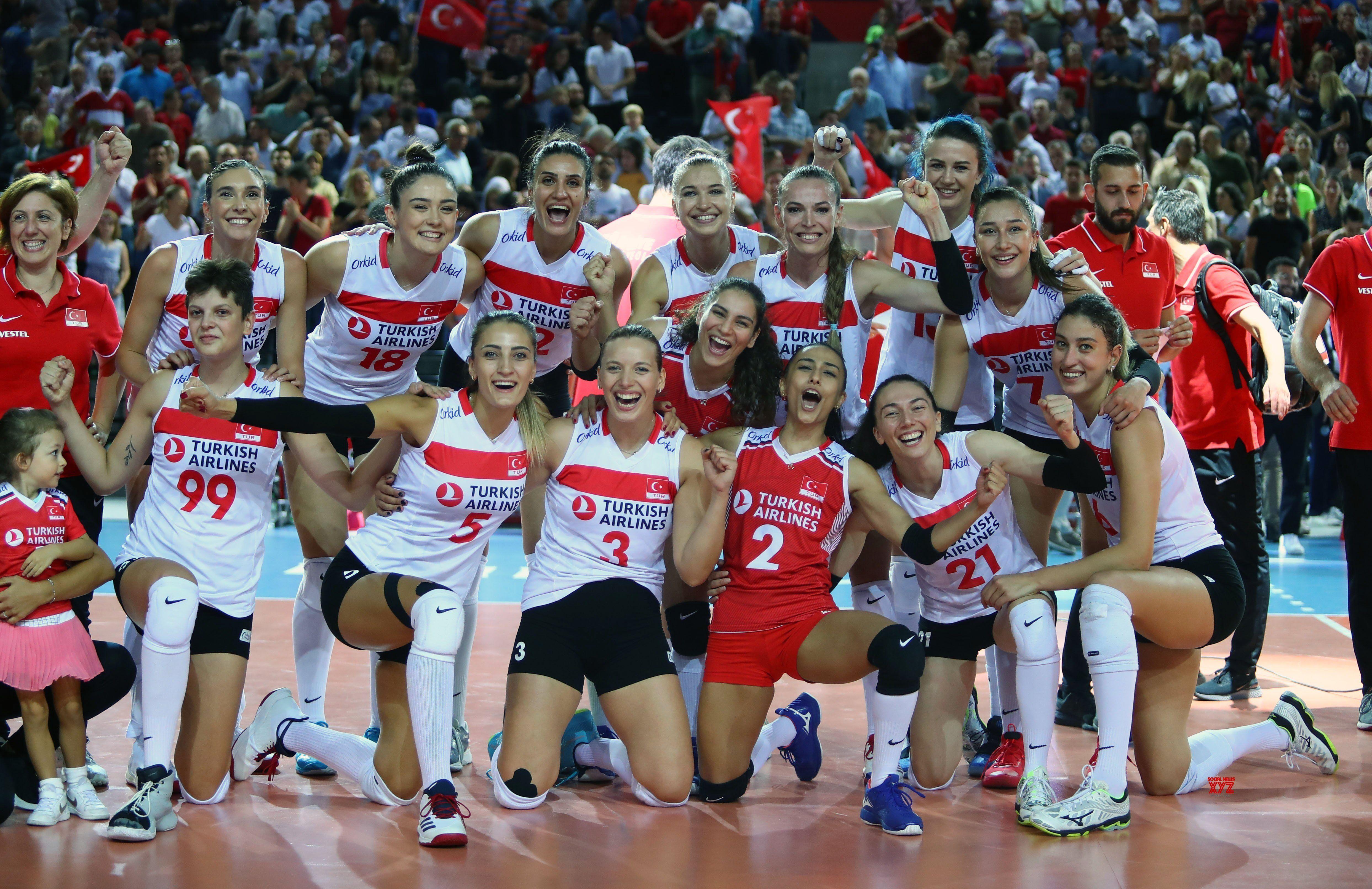 Turkey Ankara Volleyball Women S European Championship Gallery Women Volleyball European Championships