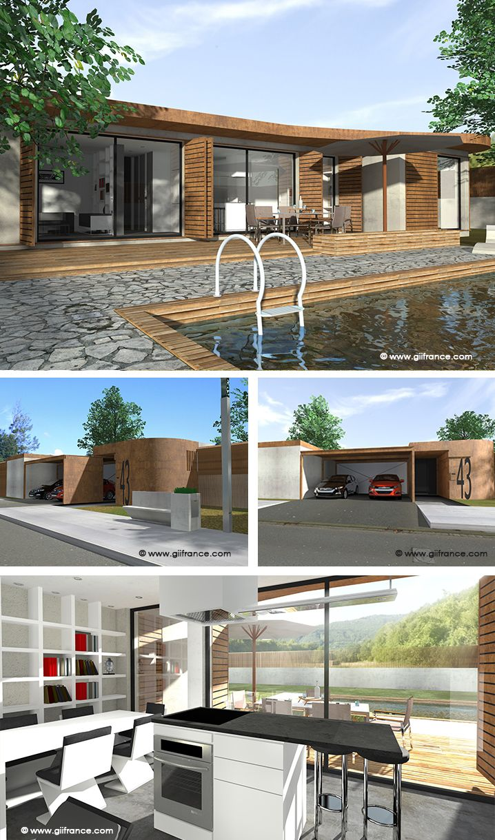 Salle De Bain Avec 2 Entrees une maison ultra optimisée qui avec 72m2 comprend 1 entrée