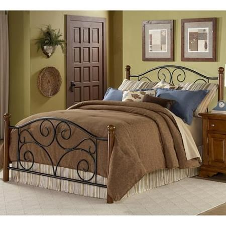 Doral King-size Bed with Frame | Furniture Row | Pinterest