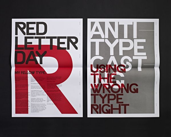 Typographic Revolt - HypeForType Typefaces by Ryan Atkinson, via Behance