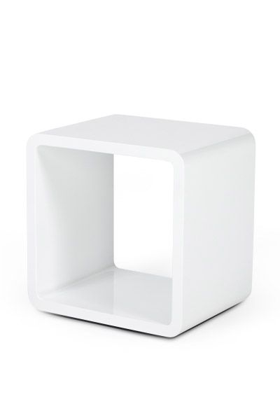 Buy These Fabulous Black Or White High Gloss Cubes Can Be Used As A Side Bedside Table Or Unique Room D Cube Storage Storage Solutions Closet Laundry Room Diy