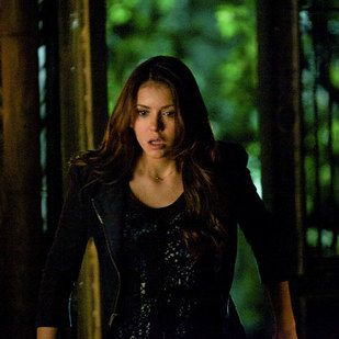 """""""Run. Like the wind. Get the f*ck out of that town."""" Nina Dobrev (Elena Gilbert, The Vampire Diaries) 