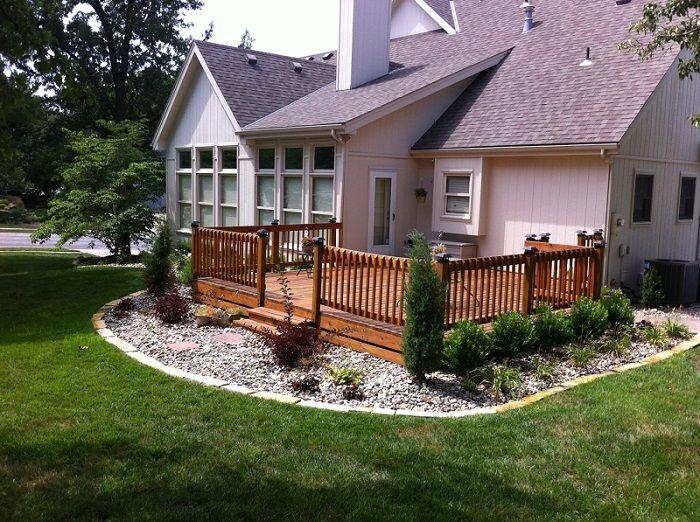 deck landscape decks and features