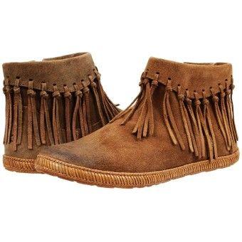 ugg australia short summer slip on ankle fringe boots