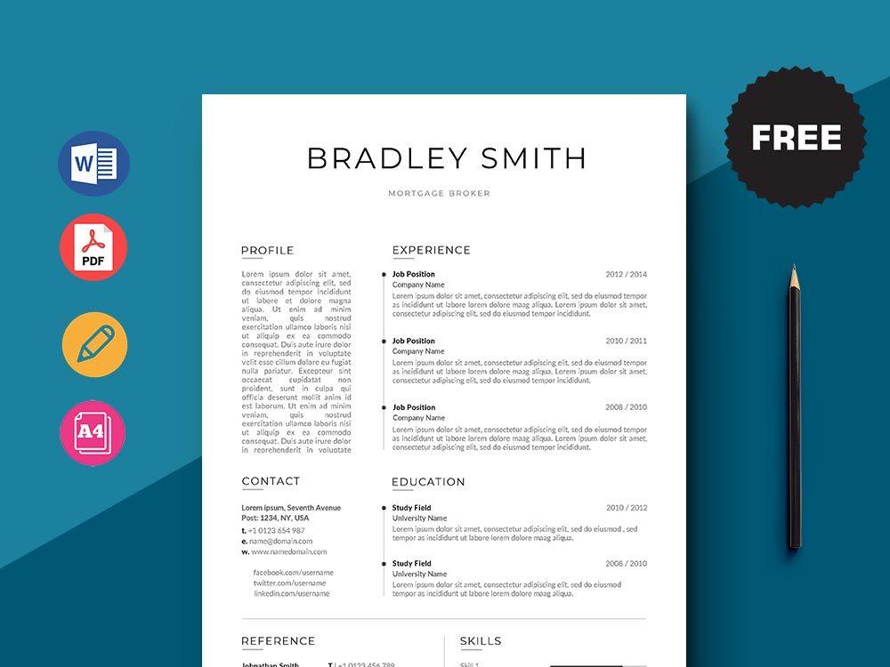 Free Mortgage Broker Resume Template Mortgage Brokers Resume Template Resume Template Free