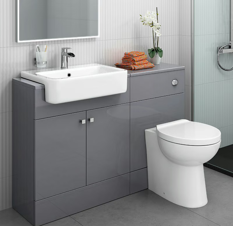24++ Toilet vanity combo inspiration