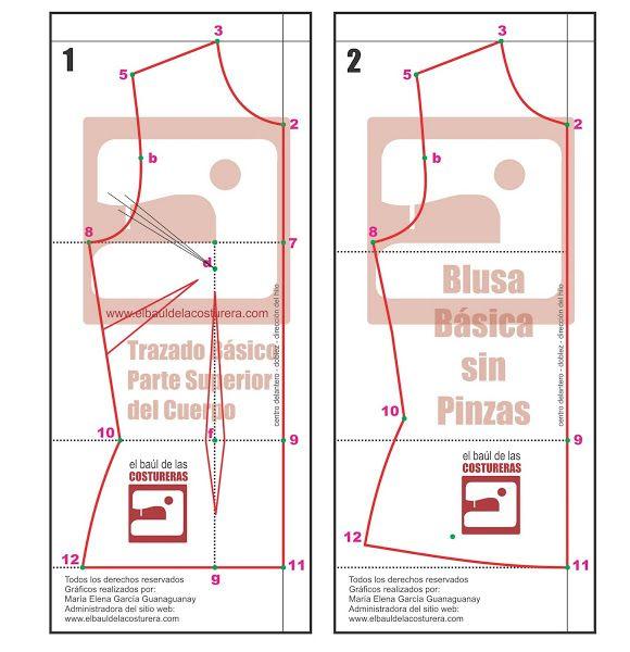 Crop Top BC119 | molde blusas | Pinterest | Sewing, Crop tops y Diy ...