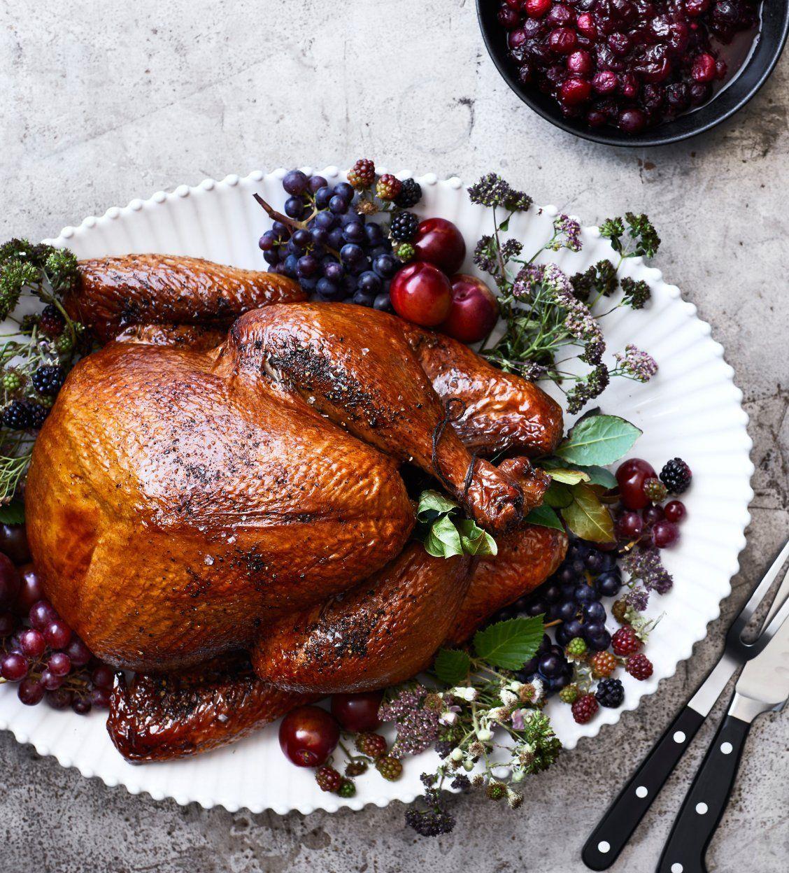 Buttermilk Brined Turkey Recipe Thanksgiving Dinner Recipes Recipes Buttermilk Brine Turkey