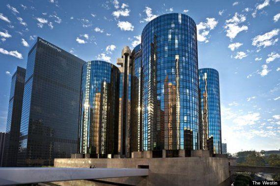 L A Prime The Westin Bonaventure Hotel Suites 404 S