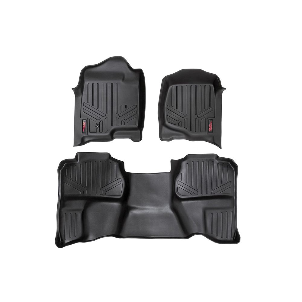 Rough Country Floor Mats For The Silverado Sierra 1500 2500hd