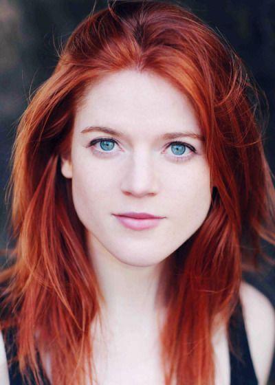 Weirwoodgrove Bright Red Hair Rose Leslie Beautiful Redhead