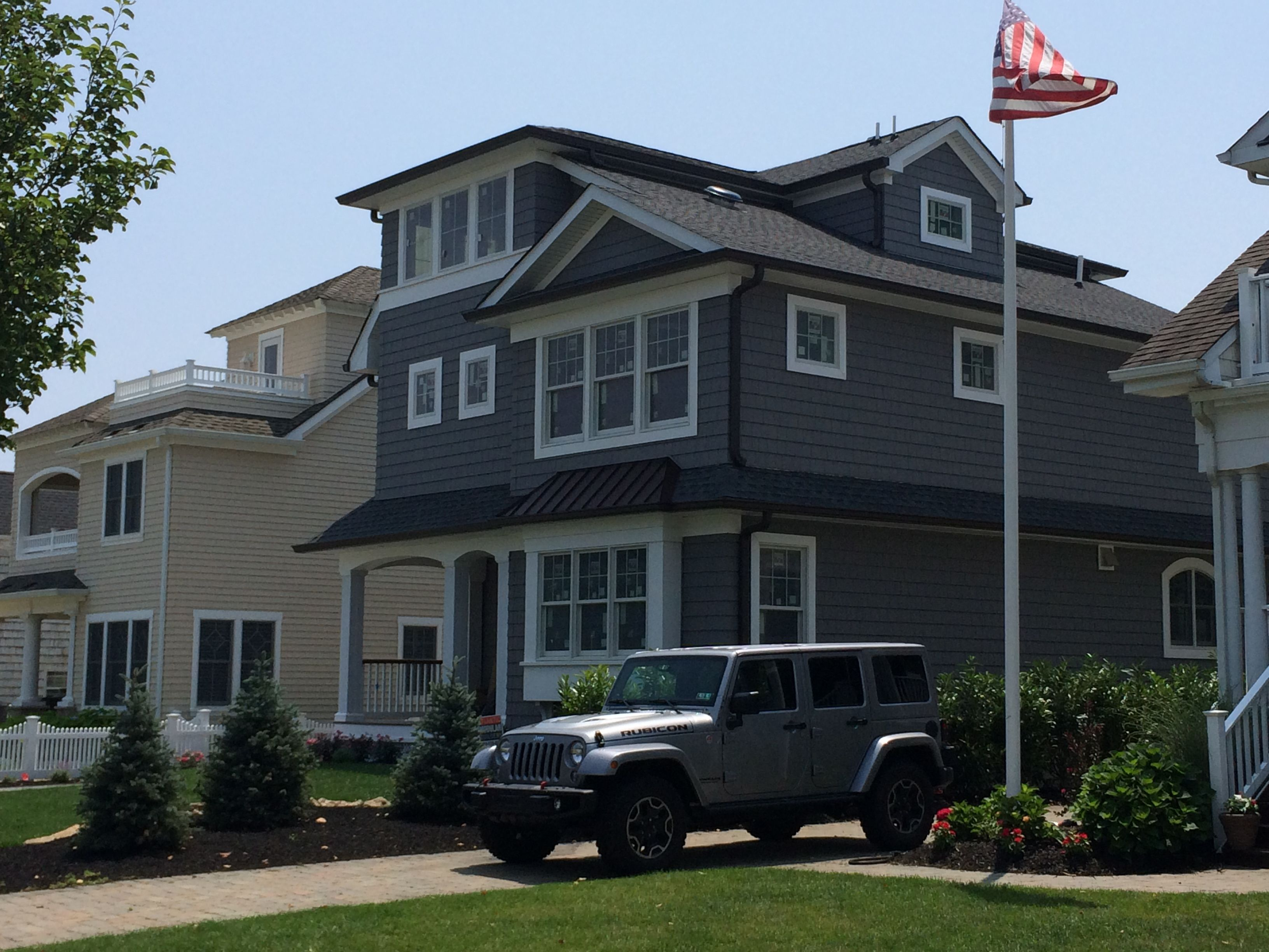 Custom two story home by Atlantic Modular Builders. Visit www.ambmodular.com to learn more about this home, or how to get started on your new Monmouth or Ocean County home.