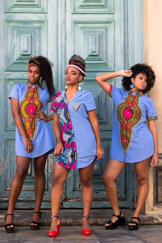 Beautiful Ankara Short Gown in 2019 #africanfashion
