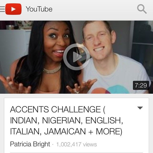 """Last year we did the ""accent challenge""...now it's got over 1 million views! Thinking of making part 2 lol...#madness #funny #bumba"""