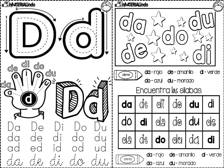 Lectoescritura 90 Fichas Completa Leo Y Escribo Las Silabas Orientacion Andujar