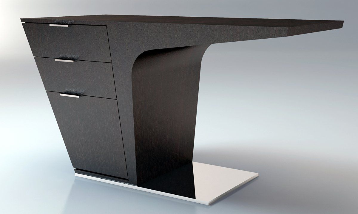 Modern Desks Mercer Desk By Modloft Cressina Modern Desk