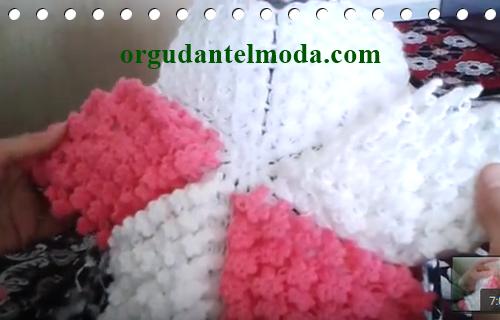 Pembe Yıldız Lif Modeli Yapılışı Anlatımlı Videolu