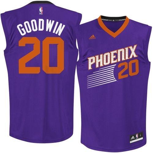 Mens Phoenix Suns Archie Goodwin adidas Purple Replica Road