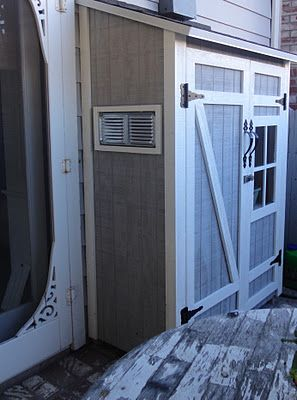 brilliant! outdoor shed is attached to house via doggie door and the litter box is in there!