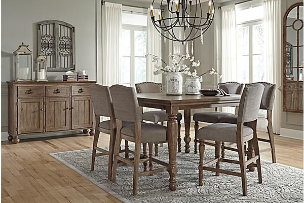Ashley Furniture Homestore Counter Height Dining Room Tables Dining Room Table Set Dining Room Server