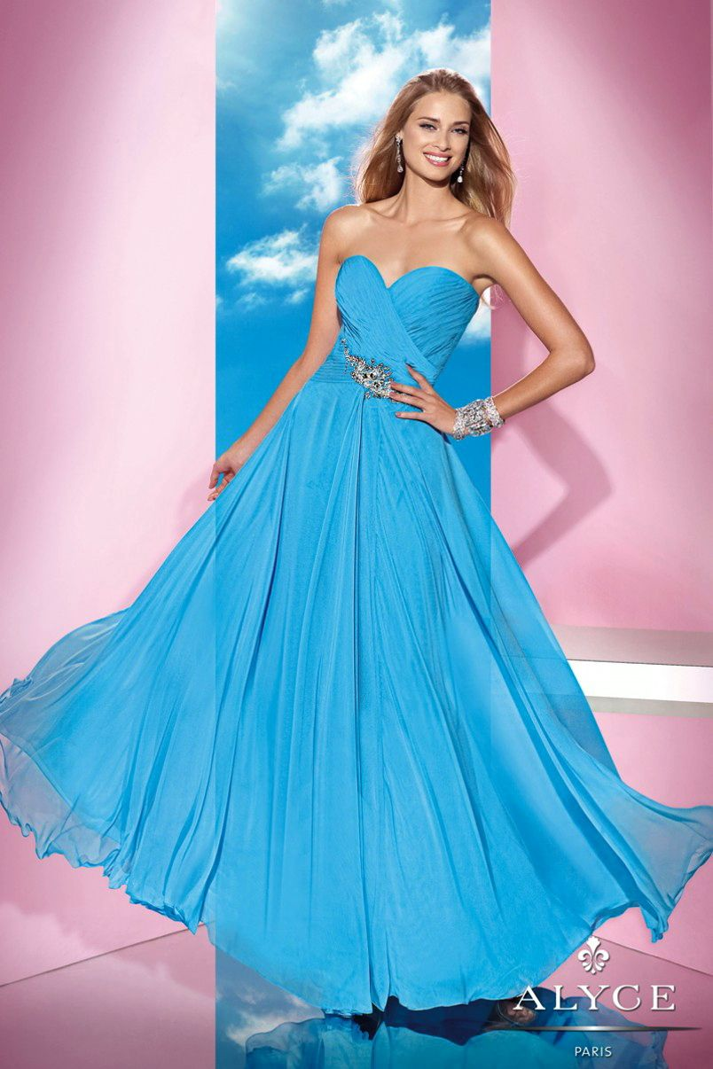 Prom Dresses<BR>Evening Dresses by ALYCE B\'DAZZLE<BR>35604<BR>Twirl ...